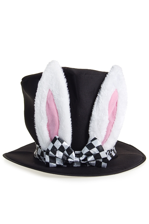 """Маскарадные костюмы Красный куб Шляпа маскарадная для взрослых """"Кролик из зазеркалья"""""""