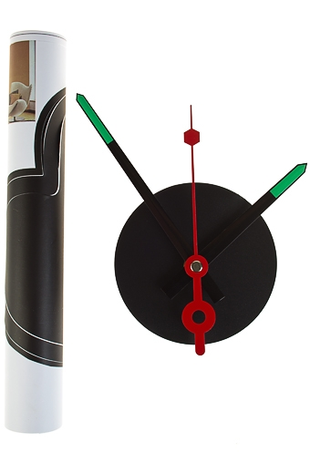 "Часы Настенные Красный куб Часы настенные ""Телефон"""