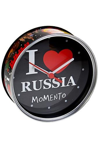 """Часы Настенные Красный куб Часы настольные/настенные """"Я люблю Россию"""""""