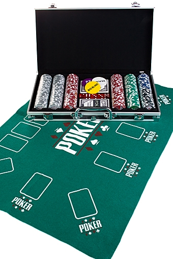"""Настольные игры для детей и взрослых Красный куб Набор игровой """"Покер"""""""