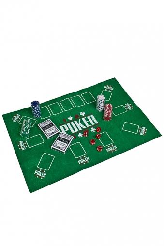 """Настольные игры для детей и взрослых Красный куб Набор игровой для взрослых """"Покер"""""""