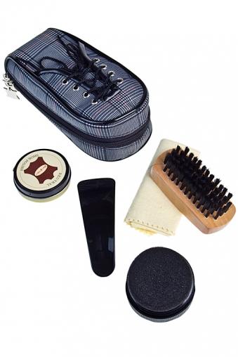 """Наборы для ухода за обувью Красный куб Набор для ухода за обувью """"Клетчатый ботинок"""""""