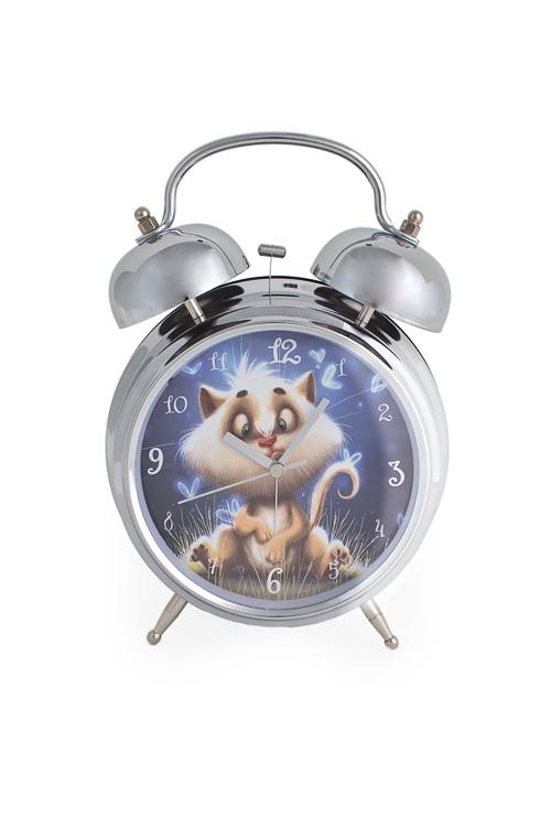 """Часы Настольные Красный куб Часы настольные """"Волшебный котик"""""""