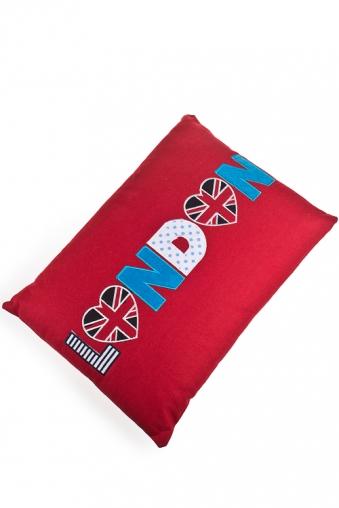 """Декоративные подушки Красный куб Подушка декор. """"Лондон"""""""