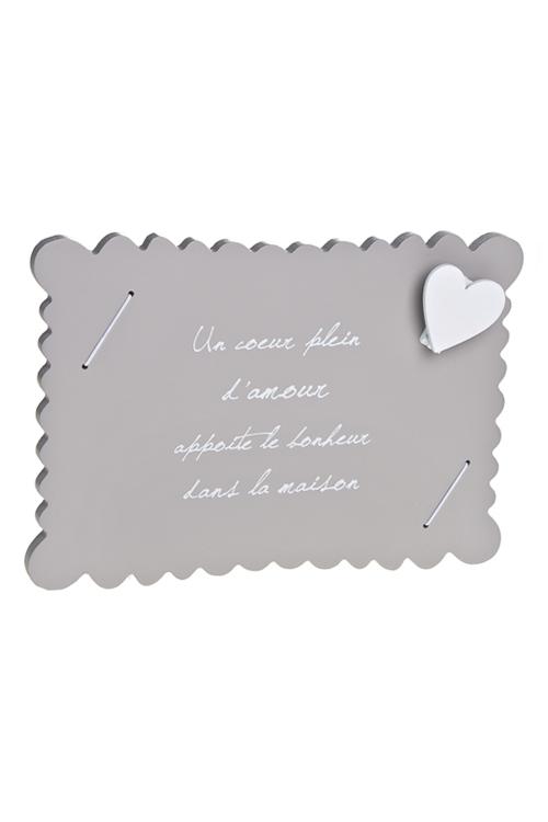 """Украшения на стену Красный куб Украшение для интерьера с держателем для фото """"Любовь"""""""