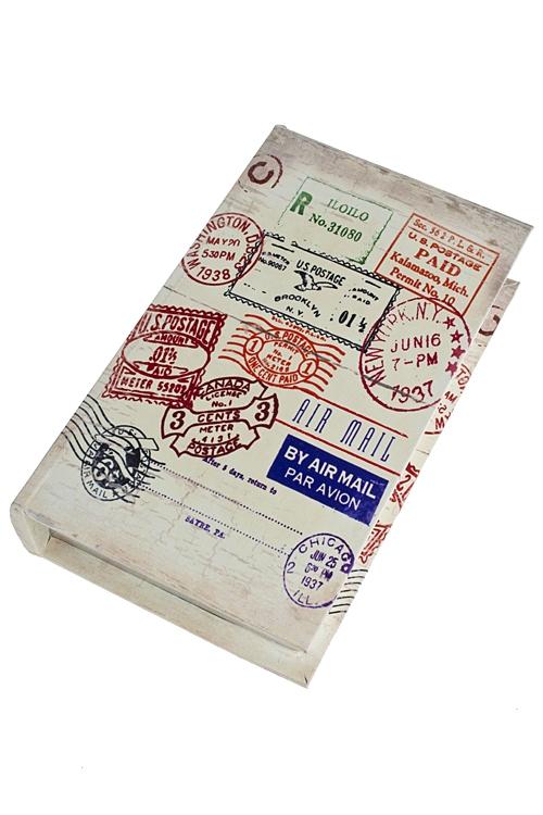 """Шкатулки для украшений Красный куб Шкатулка """"Мечта путешественника"""""""