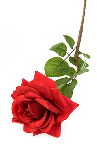 """Декоративные цветы Красный куб Цветок декор. """"Роза"""""""