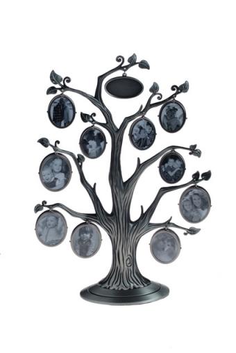 """Металлические фоторамки Красный куб Рамка для 10-ти фото """"Семейное дерево"""""""