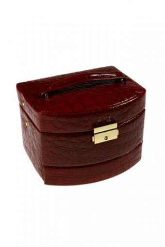 Подарки маме Красный куб Шкатулка для ювел. украш.