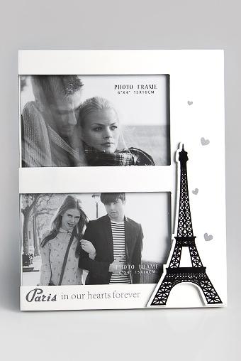 """Рамки для нескольких фото Красный куб Рамка для 2-х фото """"Любимый Париж"""""""