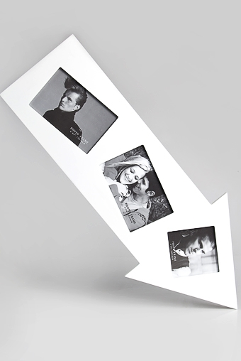 """Рамки для нескольких фото Красный куб Рамка для 3-х фото """"Стрела"""""""