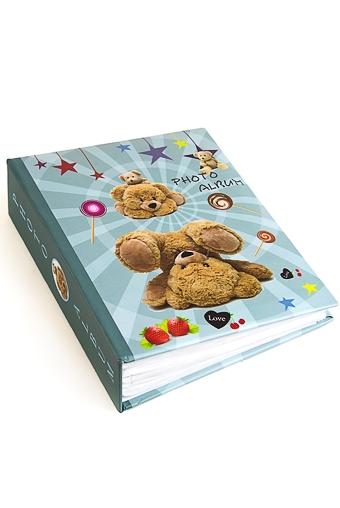 """Фотоальбомы для детей и новорожденных Красный куб Фотоальбом """"Мишкино счастье"""""""