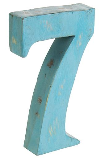 """Деревянные статуэтки Красный куб Украшение для интерьера """"Счастливая семерка"""""""