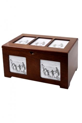 """Фото ящики Красный куб Ящик для 200 фото """"Воспоминания"""""""