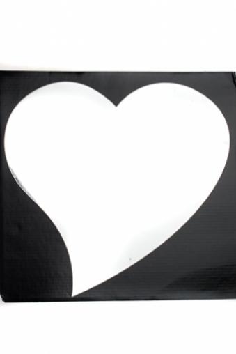 """Украшения на стену Красный куб Украшение для интерьера """"Сердце"""""""