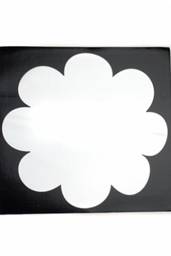 """Украшения на стену Красный куб Украшение для интерьера """"Цветок"""""""