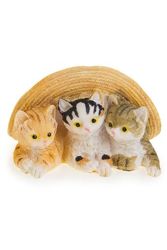"Фигурки Красный куб Фигурка ""Три котенка и шляпа"""
