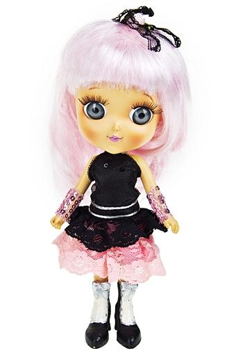 "Маленькие куклы Красный куб Фигурка ""Яркая модница"""
