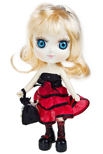 "Маленькие куклы Красный куб Фигурка ""Златовласка"""