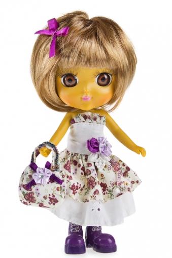 """Маленькие куклы Красный куб Фигурка """"Лиловая фея"""""""