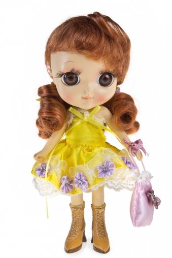 """Маленькие куклы Красный куб Фигурка """"Рыженькая фея"""""""