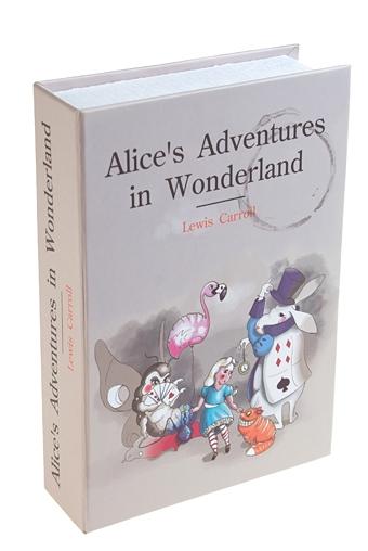 """Копилки и сейфы Красный куб Сейф """"Алиса в стране чудес"""""""