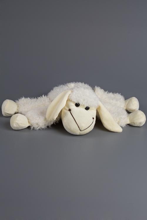 """Плюшевые игрушки Красный куб Игрушка мягконабивная """"Довольная овечка"""""""