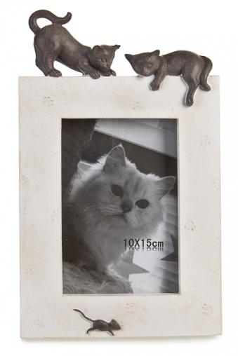 """Пластиковые фоторамки Красный куб Рамка для фото """"Кошки-мышки"""""""