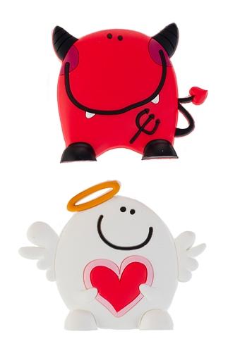 """Магниты Красный куб Набор держателей-магнитов """"Ангел и демон"""""""