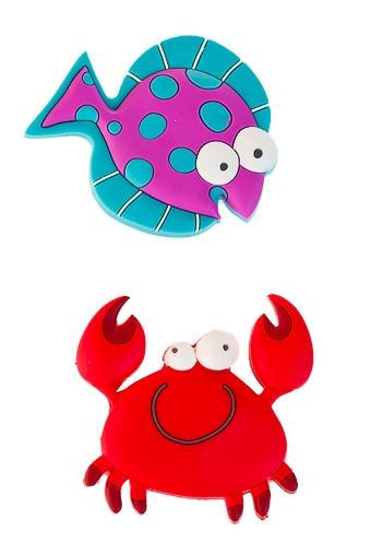 """Магниты Красный куб Набор держателей-магнитов """"Смешной подводный мир"""""""