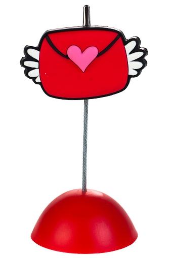 """Держатели-зажимы для фото Красный куб Держатель для фото """"Любовное письмо"""""""