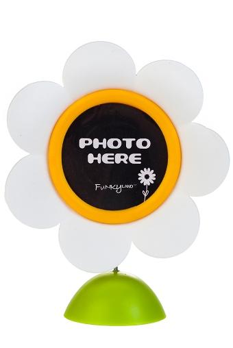 """Держатели-зажимы для фото Красный куб Держатель для фото с рамкой """"Ромашка"""""""