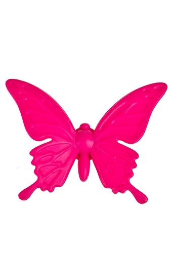 """Сувениры для женщин Красный куб Держатель-магнит """"Яркая бабочка"""""""