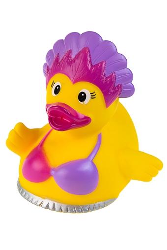 """Игрушки для ванной Красный куб Игрушка """"Уточка-гавайская красотка"""""""