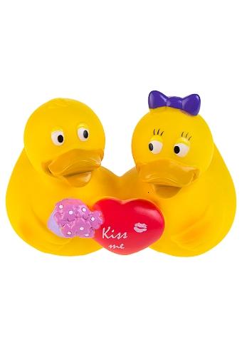 """Игрушки для ванной Красный куб Игрушка """"Влюбленные утята"""""""