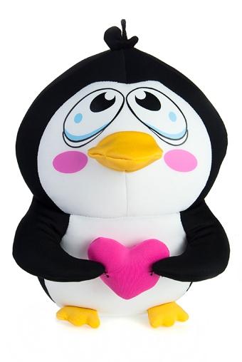"""Подарки детям Красный куб Игрушка мягкая """"Пингвин"""""""
