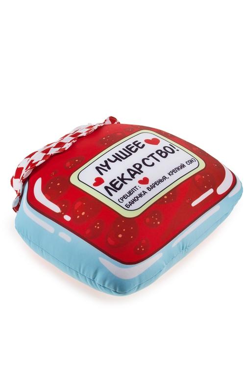 """Подушки игрушки Красный куб Игрушка мягконабивная """"Лучшее лекарство"""""""