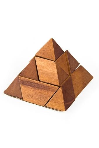 """Головоломки Красный куб Сувенир-головоломка """"Путь к пирамиде"""""""