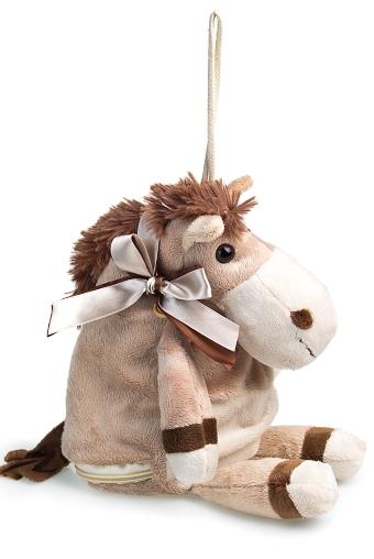 """Плюшевые игрушки Красный куб Игрушка мягкая """"Милая лошадка"""""""