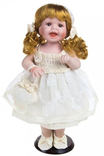 """Фарфоровые куклы Красный куб Кукла """"Веселая златовласка"""""""