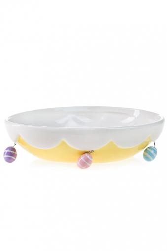 """Тарелки и пиалы Красный куб Блюдо """"Яйцо"""""""