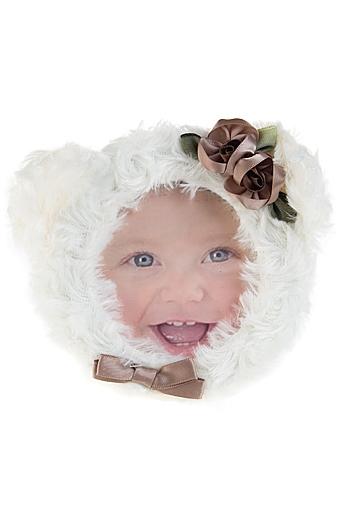 """Фоторамки для новорожденных и детские Красный куб Рамка для фото """"Мишка"""""""