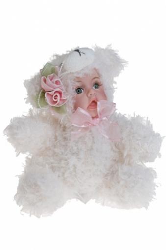 """Игрушки-куклы Красный куб Игрушка мягкая-кукла """"Маленький медвежонок"""""""