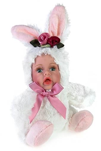 """Игрушки-куклы Красный куб Кукла мягконабивная """"Зайка"""""""