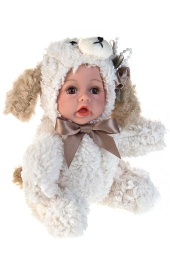 """Игрушки-куклы Красный куб Кукла мягконабивная """"Маленькая собачка"""""""