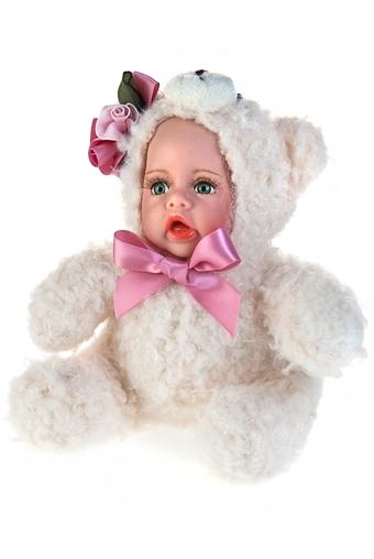 """Плюшевые игрушки Красный куб Кукла мягконабивная """"Маленький медвежонок"""""""