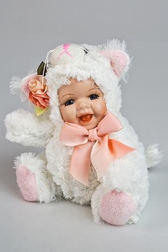 """Игрушки-куклы Красный куб Кукла мягконабивная """"Маленький котенок"""""""