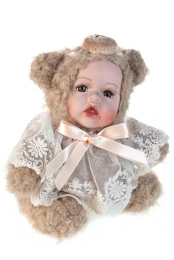 """Игрушки-куклы Красный куб Кукла мягконабивная """"Мишенька в кружевах"""""""