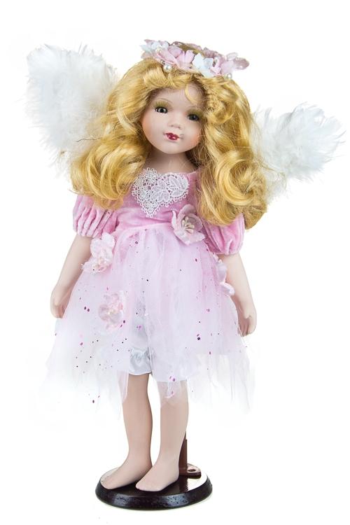 """Текстильные игрушки Красный куб Кукла """"Милый ангелочек"""""""