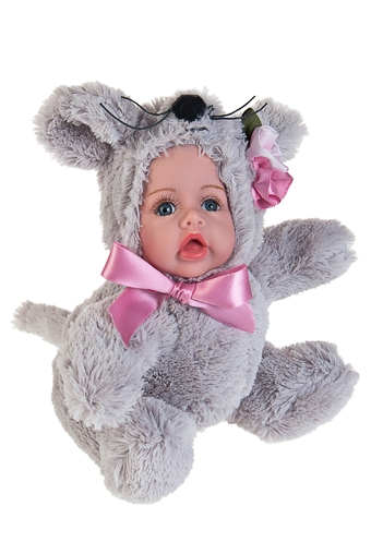 """Игрушки-куклы Красный куб Кукла мягконабивная """"Маленький мышонок"""""""